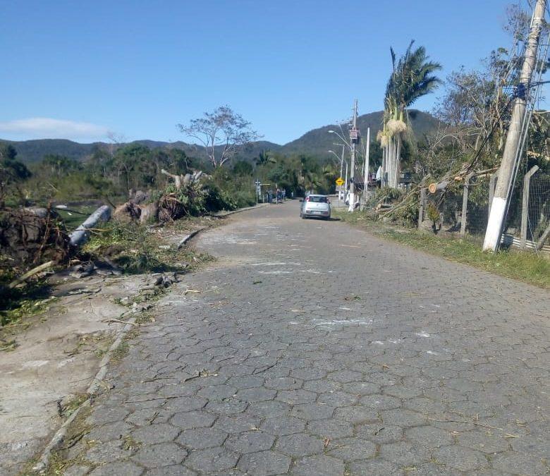 Bairro Ratones em Florianópolis está ha mais de 48 horas sem luz