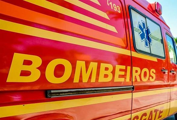 Bombeiro salva bebê por telefone em Blumenau/SC