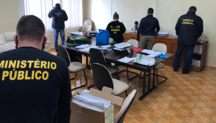 Ministério Público e Polícia Civil deflagram operação de combate à corrupção no Planalto Norte