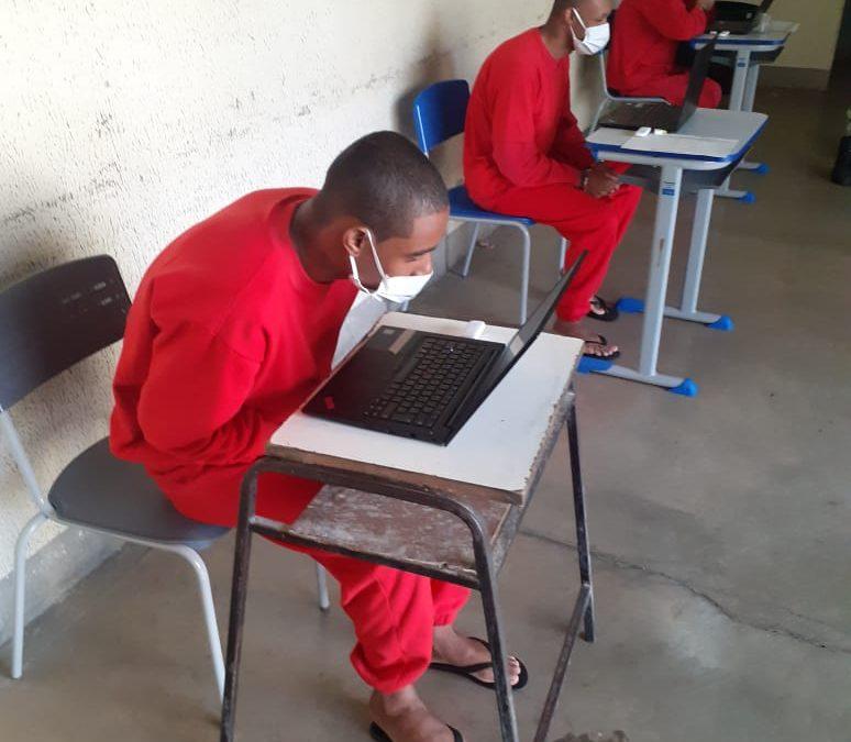 Visitas virtuais já são realizadas em 87% dos presídios e penitenciárias de Minas Gerais