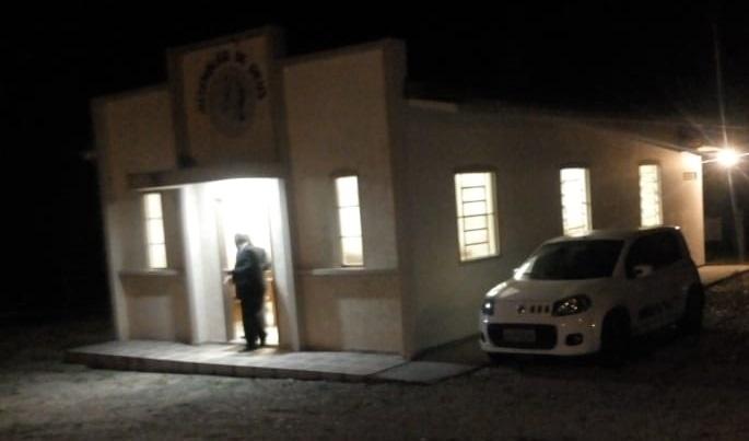 Idosos e pessoas que fazem parte do grupo de risco estão participando de reunião religiosa de uma seita localizada na Rua João Jánuario da Silva, em Ratones na noite desde sábado em Florianópolis