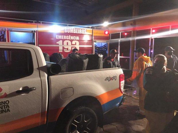 Defesa Civil confirma a passagem de tornados em Santa Catarina