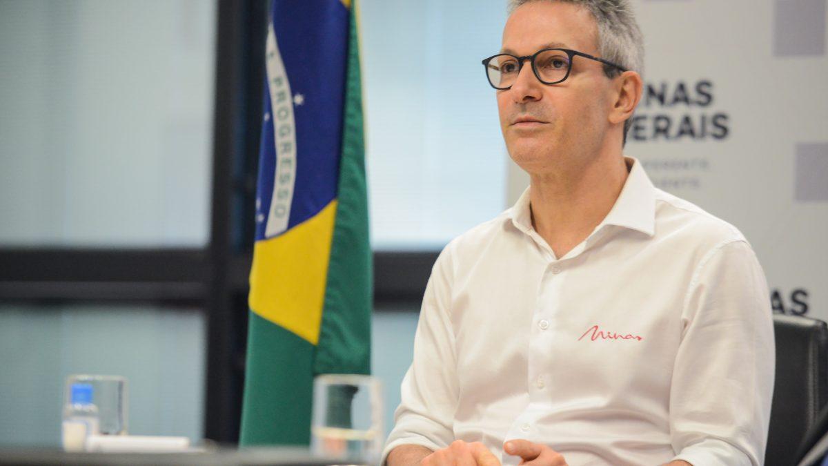 Romeu Zema participa de live para lançamento do projeto Desenvolve Minas Gerais