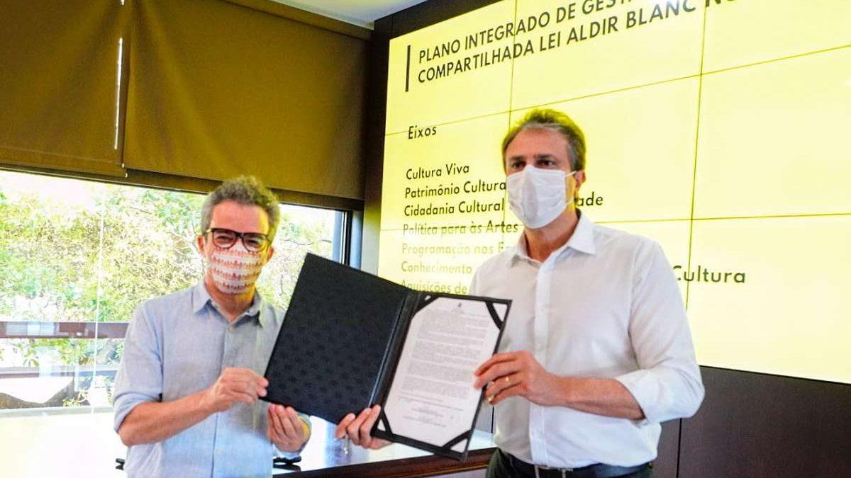 Ceará é o primeiro Estado a sancionar a Lei Aldir Blanc, que injetará R$ 138 milhões na cultura cearense