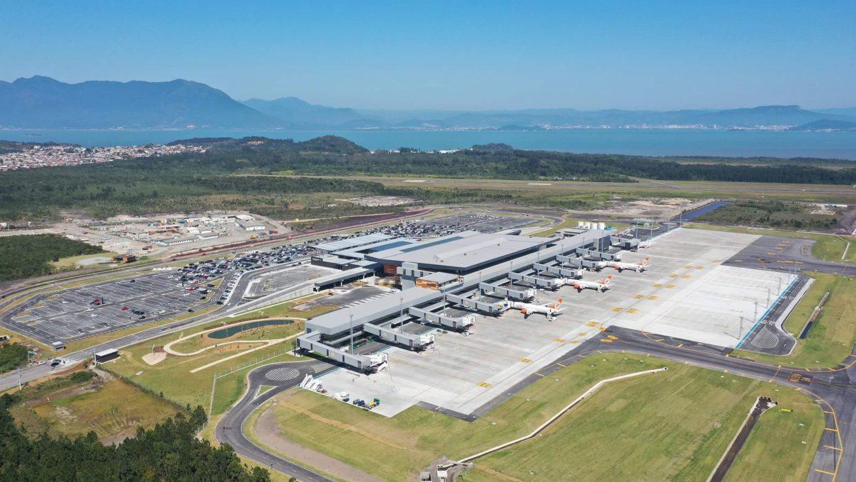 Governo Federal testa embarque com reconhecimento facial no Aeroporto de Florianópolis