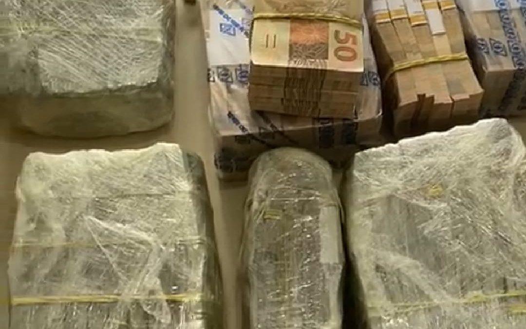 Grande quantidade de dinheiro é apreendido na região de Itajaí, SC