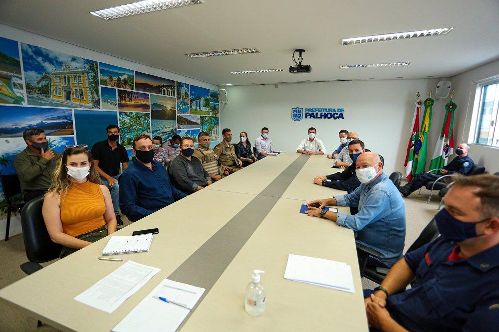 Palhoça define ações para a Temporada de Verão 2020/2021