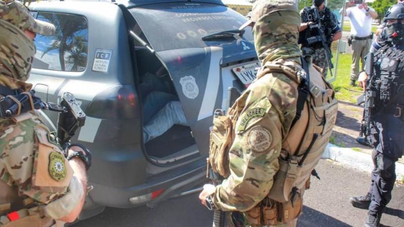 Polícia Civil prende em Gramado dupla envolvida no ataque a banco em Criciúma