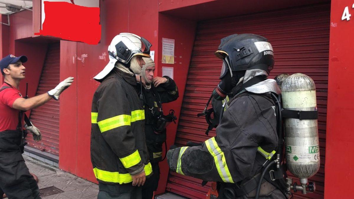 Corpo de Bombeiros confirma, Incêndio em Lanchonete Centro de Florianópolis
