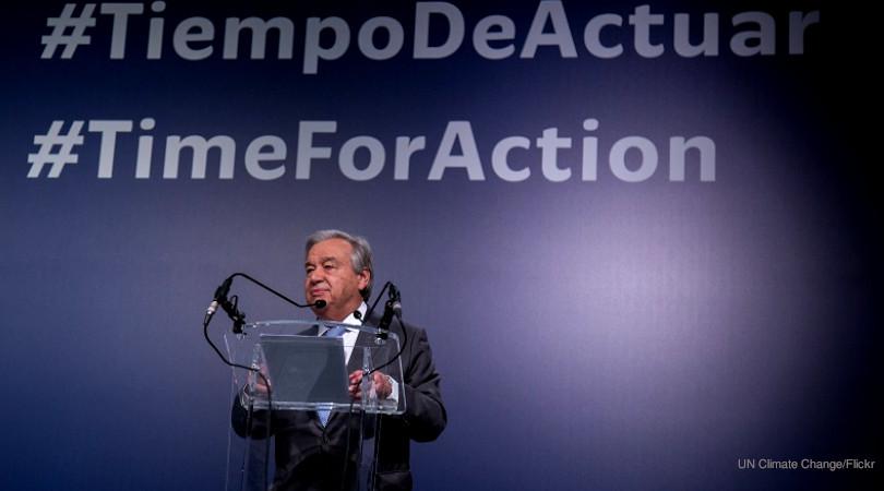 Com Brasil barrado, ONU celebra cinco anos do Acordo de Paris