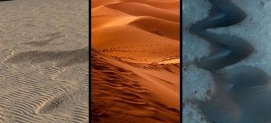 Estudo sobre a dinâmica de dunas ajudará a compreender a formação do relevo de Marte