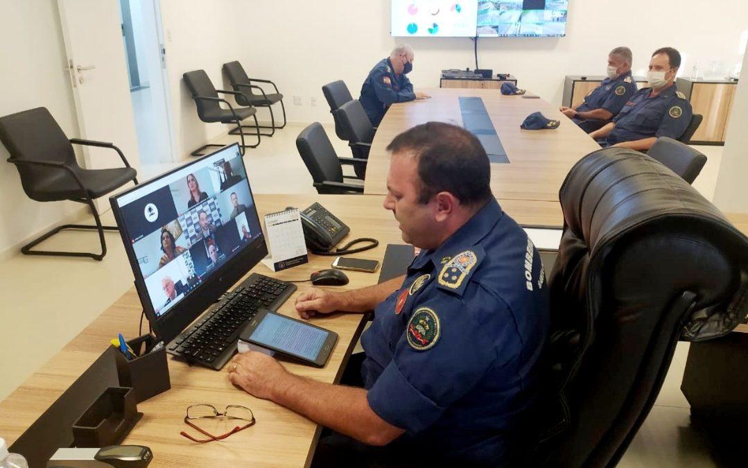 Coronel do Corpo de Bombeiros Militar de Santa Catarina Charles Alexandre Vieira assume Colegiado Superior de Segurança Pública e Perícia Oficial