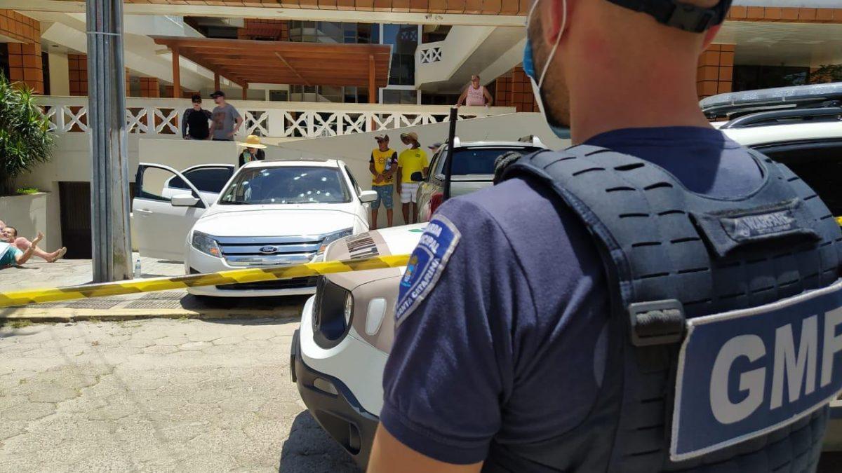 Uma execução na manhã desde Domingo 03, no Balneário de Canasvieiras em Florianópolis