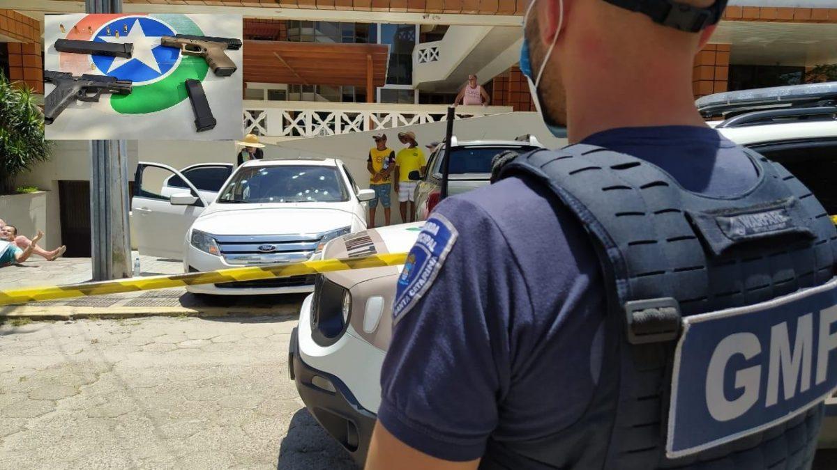 POLÍCIA MILITAR PRENDE SUSPEITOS DE EXECUÇÃO NO BALNEÁRIO DE CANASVIEIRAS EM FLORIANÓPOLIS