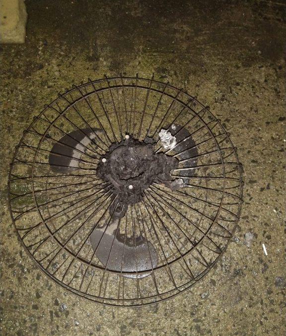 Alerta: Tenha cuidado com ventiladores durante o verão