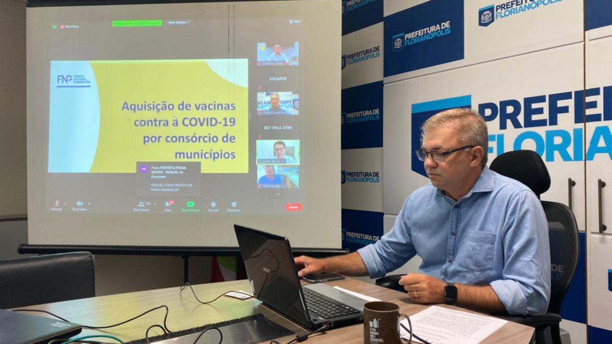 Gean Loureiro é eleito presidente do Conectar, maior consórcio público de municípios brasileiros