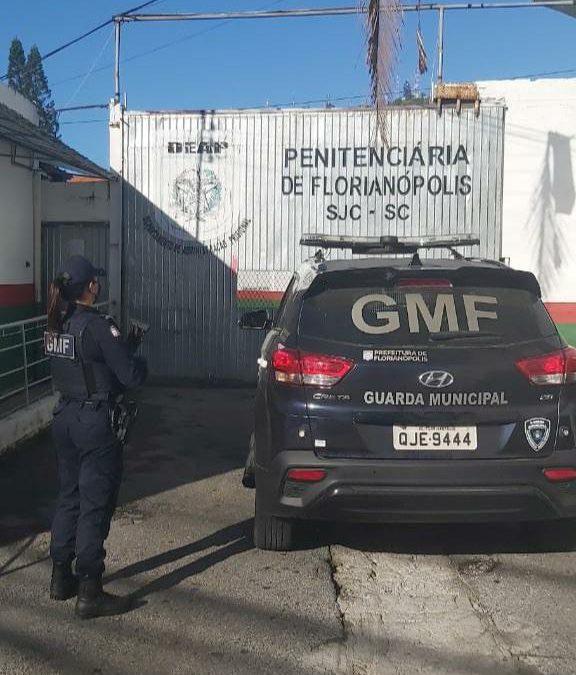 Após denúncia, GMF detém homem com mandado de prisão ativo por furto