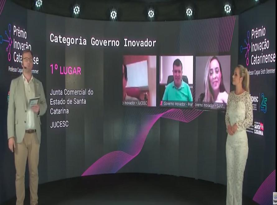 Jucesc vence o Prêmio Inovação Catarinense
