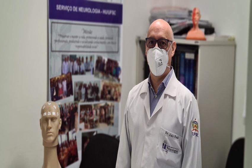 Especialista do HU-UFSC explica sequelas neurológicas em pacientes que tiveram Covid-19