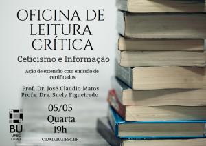 BU promove oficina de leitura crítica sobre ceticismo e informação