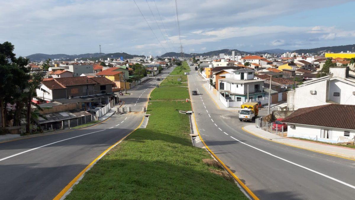 Aveinda das Torres em Palhoça será inaugura nessa sexta (30)