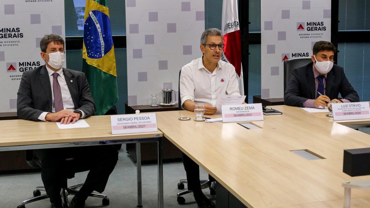 Zema se reúne com presidente do STF para discutir aperfeiçoamento do acordo para compensação da tragédia de Mariana