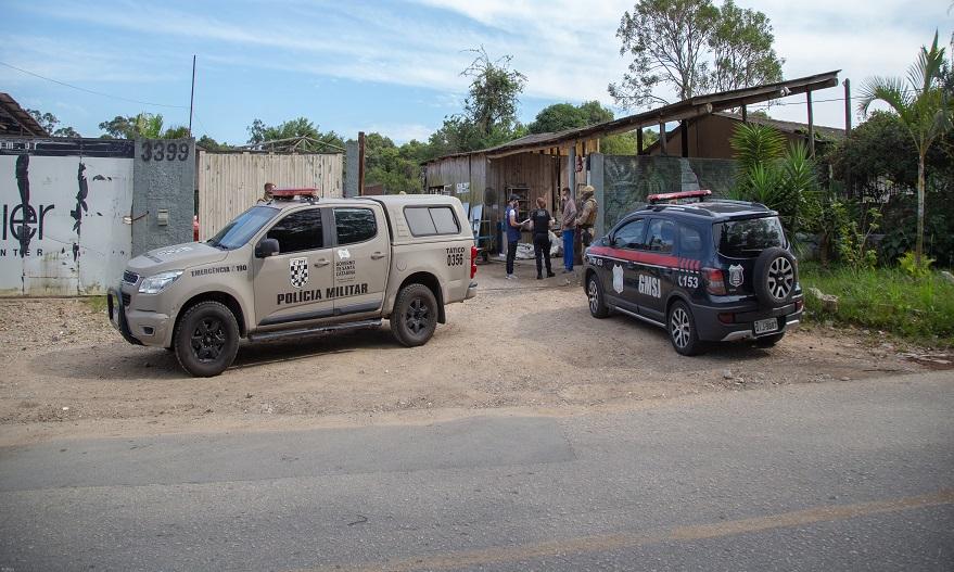 GMSJ e PM realizaram a operação Ferro Velho para coibir furtos em São José/SC