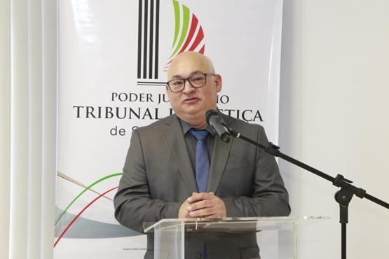 Tribunal de Justiça de SC, empossa Flávio André Paz de Brum no cargo de desembargador