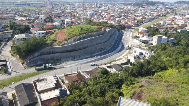 Avenidas das Torres é inaugurada em Palhoça/SC