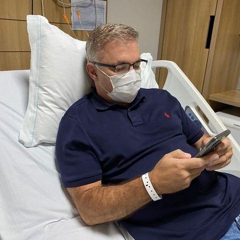 Prefeito de Florianólis esta internado para tratamento de infecção no pulmão