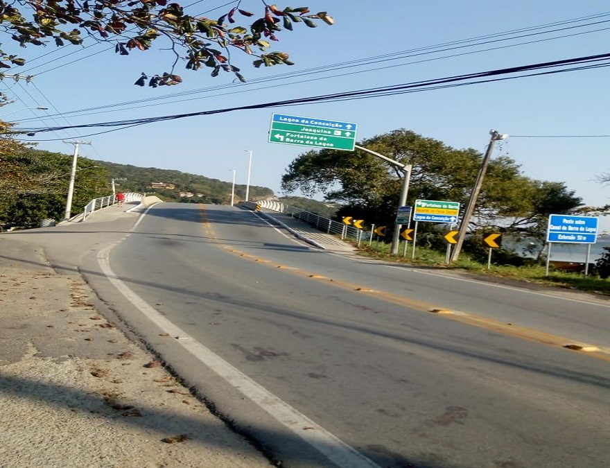 Decisão judicial impede definitivamente a demolição da nova ponte sobre o canal da Barra da Lagoa no Leste de Florianópolis