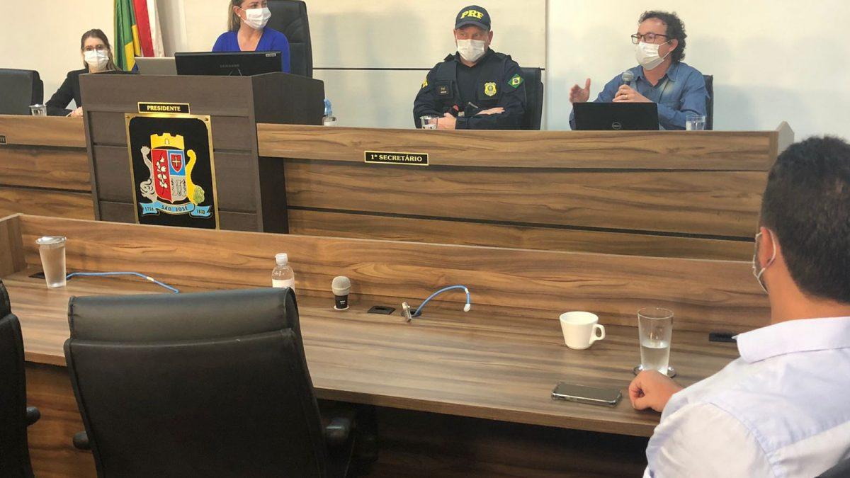 Motocicletas serão proibidas de usar a BR-101 na Grande Florianópolis