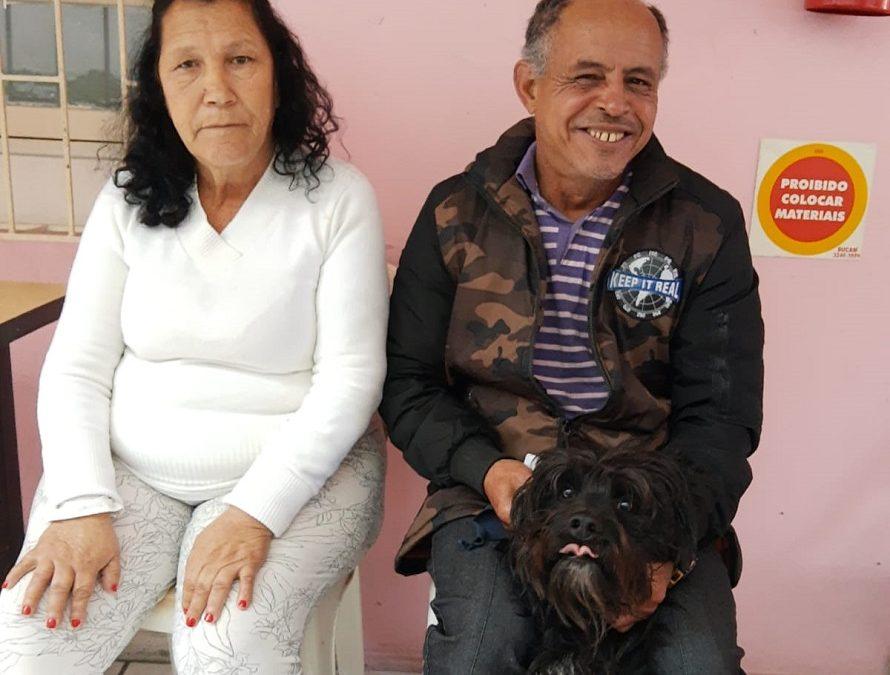 Após auxílio casal que estava em situação de rua aluga uma casa para morar em Florianópolis