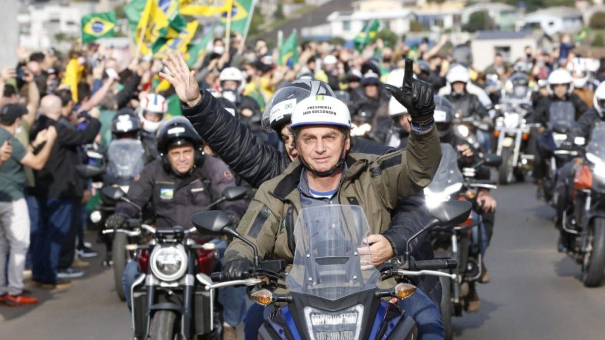 Evento motociata com presença do presidente Jair Bolsonaro altera trânsito neste sábado (07) em Florianópolis