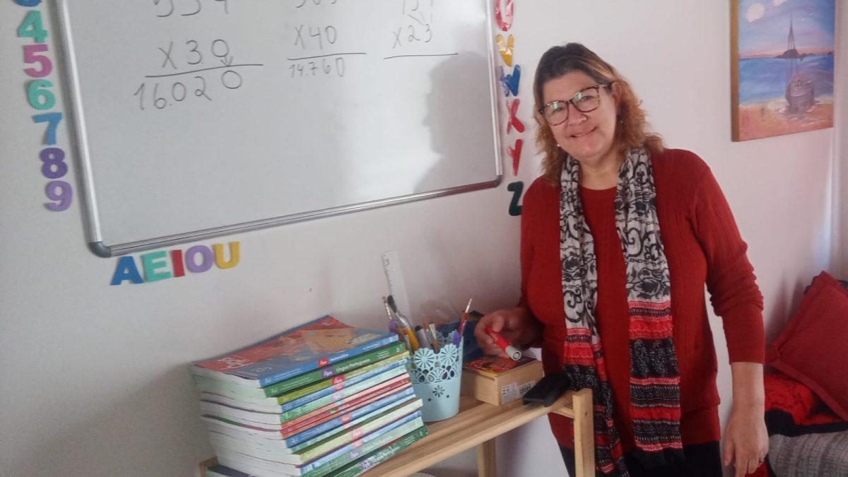 De pessoa em situação de rua à professora da rede municipal de ensino de Florianópolis