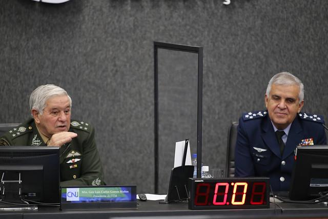 Ministros do STM defendem atribuições específicas da Justiça Militar da União