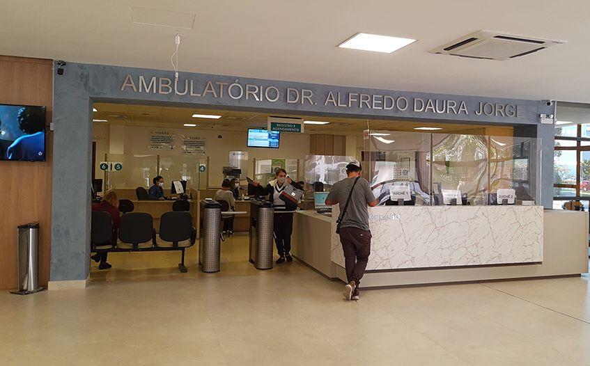 CEPON entrega área revitalizada do hospital aos catarinenses