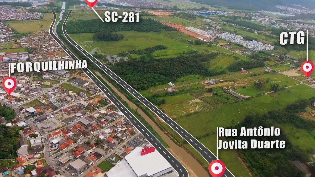 Em São José, governador libera R$ 48,5 milhões para construção de nova avenida